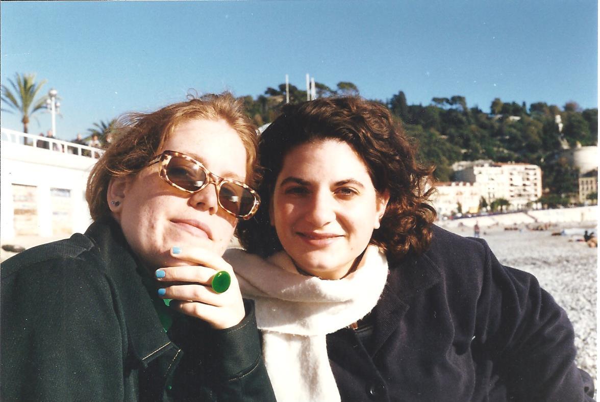 Kelly Blank, Kat Guidi (Meyer) Nice, France Nov 1996 001